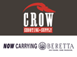 Crow Shooting Supply Now Distributing Beretta, Sako & Tikka...