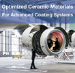 Oerlikon Metco produces optimized ceramic materials strategically designed to enhanced surface properties. For example, thermal spray abradable materials used for clearance control coatings.