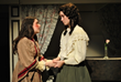 Sagemont sophomore Angel Martinez (right) earned a Cappies nomination for Best Lead Actress in a Musical for her performance as Jo March in Little Women.