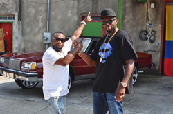 Six9 And Shawty Lo On Set