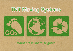 Movers in Charlotte Going Green