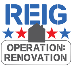 REIG Construction donating a home renovation to a military member in need