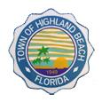 Town of Highland Beach, Florida Logo