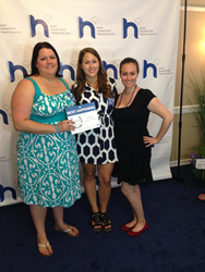 eZanga Marketing Team, (from left to right) Michelle Brammer, Marketing and PR Manager; Megan Ingenbrandt, PR Specialist; and Brittany Berger, Digital Content Supervisor.