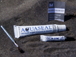 Make Matching Repairs to Wetsuits with the New Black Aquaseal Colorant...