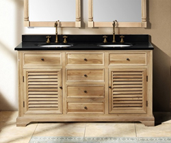 "James Martin Savannah Collection 60"" Single Bathroom Vanity, Natural Oak 238-104-5321"
