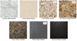 New stone vanity top options from James Martin Furniture