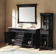 James Martin Solid Wood 60 Brookfield Double Bathroom Vanity Antique Black 147-114-5631