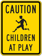 STOPSignsAndMore.com Announces Children at Play Signs Just in Time for...