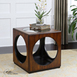 Tura Cube Accent Table From Uttermost 24385