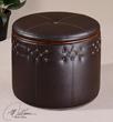 Brunner Small Storage Ottoman From Uttermost Furniture 23024