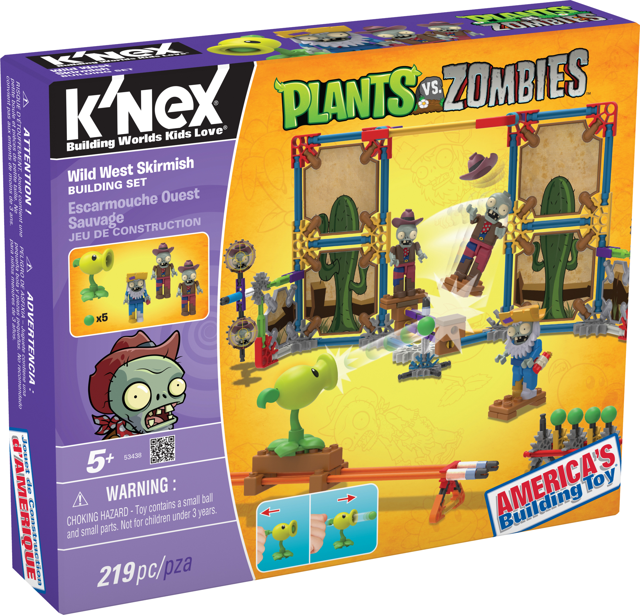 K nex brands releases first line of plants vs zombies for Zombie build