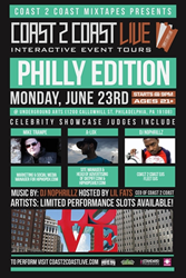 Coast 2 Coast LIVE Comes To Philadelphia June 23, 2014!