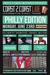 Coast 2 Coast LIVE Comes To Philadelphia June 23, 2014!