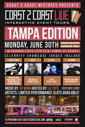 Coast 2 Coast LIVE Comes To Tampa, Florida June 30, 2014!