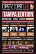 Coast 2 Coast LIVE Comes to Tampa, Florida June 30, 2014