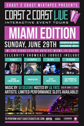 Coast 2 Coast LIVE Comes To Miami, Florida June 29, 2014!