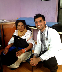 Keshav CFHI Ecuador Global Health Program
