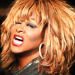 Larry Edwards as Tina Turner, photo by Ninon Nguyen