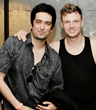 Omer Pasha with Nick Carter