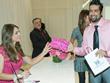 Omer Pasha with Elizabeth Hurley