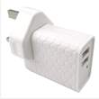 Cheap 2-Ports AC USB Power Adapters Provided by China Electronics Accessory Manufacturer Hiconn Electronics