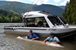 19-Year-Old Tourist Catches a Giant White Sturgeon Fishing with Great...