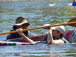 Cardboard Boat Regatta at Cross Keys Village
