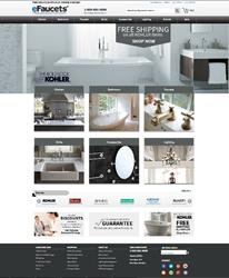 eFaucets Website Redesign