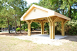 The Beach Properties Pavilion at the Jarvis Creek Fitenss Trail