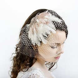 Lily Bella Headpieces and Birdcage Veils