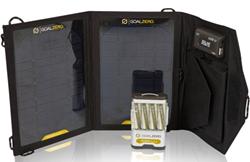 goal zero guide 10 plus mobile kit, recharge, gps, ipod, solar, panel