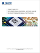 Brady Releases White Paper on How Traceability Can Solve Challenges...