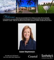 Isabel Stephenson, Sales Associate