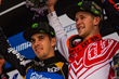 Monster Energy Athletes Sam Hill Second Place and Troy Brosnan First Place World Cup