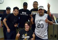 Shweiki Media Printing Company, San Antonio Spurs