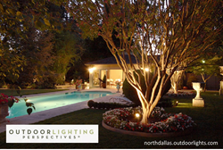 Outdoor Lighting Design North Dallas