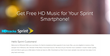 HDtracks Joins With Sprint to Offer an Eight-song Music Download in Pristine, High-resolution Sound Quality