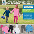 Bug Smarties Playwear with Insect Shield from One Step Ahead