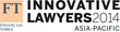 Financial Times Lists Winners of Inaugural Innovative Lawyers Awards...