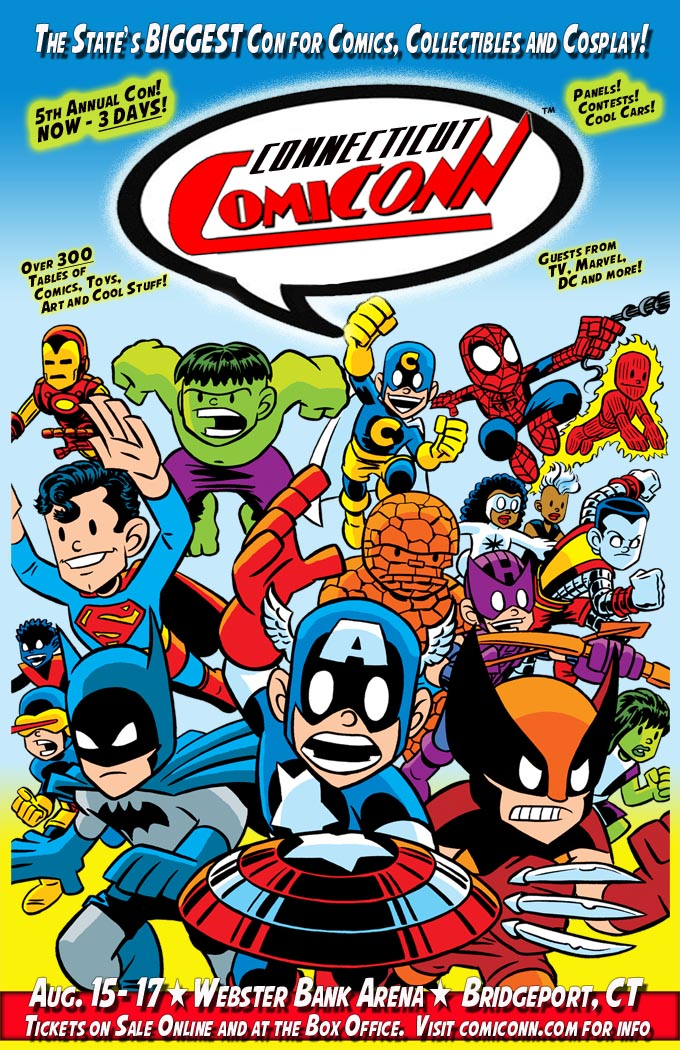 Connecticut ComiCONN - A Giant-sized Celebration of Comics, Toys ...