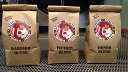 Sales of Charlie Foxtrot Coffees benefit the Fallen 15