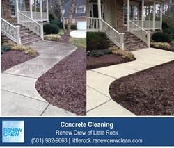 Concrete Cleaning in Little Rock AR
