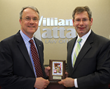 William Mattar Receives Plaque of Recognition