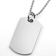 Personalized Engraved Dog Tags from StickyJ