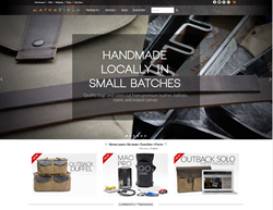 WaterField Designs New Website Homepage