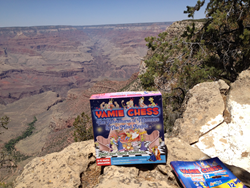 Yamie Chess in Arizona's Grand Canyon