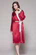 Night Companion: 22 Momme Mid-Length Silk Robes Are Introduced to...