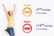 Lower Monthly Plans to Call Poland All Summer Long, With...
