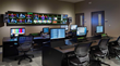 Broadcast-quality video production control room at 12Stone designed and installed by TIBSG.